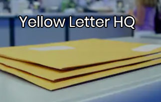 Yellow Letter HQ Review – The Letters With Invitations & Windowed Envelopes