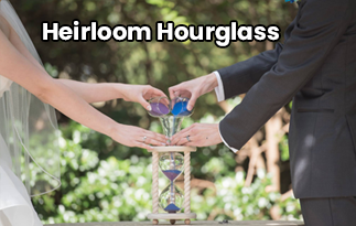 Heirloom Hourglass Review | Wedding Sand Ceremony Hourglass