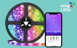 OMGLEDs Review | RGB LED Light Strips to Boost Your Mood