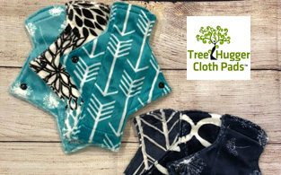 Tree Hugger Cloth Pads Review   Reusable Sanitary Pads for Women