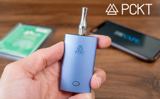 PCKT Vapor Review | Feature-laden Cannabis Vape Cartridges for All Smokers!