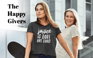 The Happy Givers Review | Non-Profit Apparel Store To Feed and Help Needy